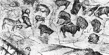 prehistoric cave paintings the highlanders