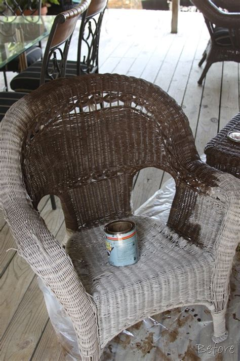 25 best ideas about painting wicker furniture on