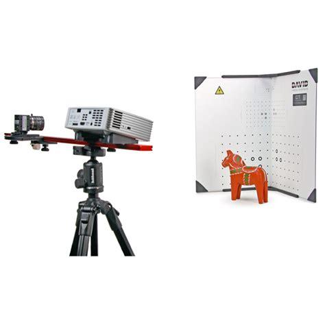 structured light scanning tutorial david sls 3 hd structured light 3d scanner david 4 pro