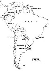 printable map south america anth p370 course newsletter 2008