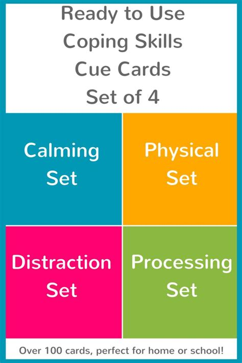 Coping Card Template by 17 Best Images About Coping Skills For On