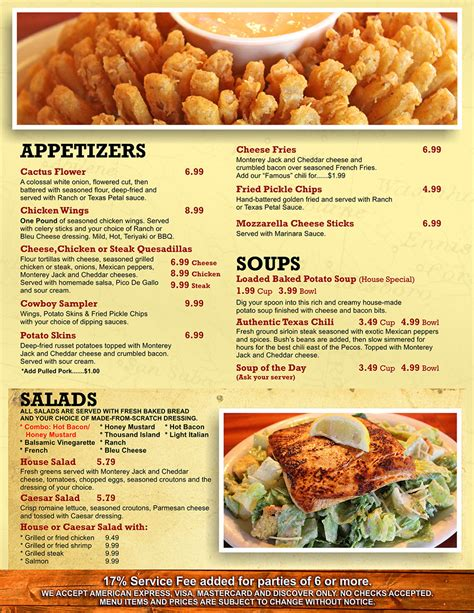 texas road house menu texas roadhouse menu house plan 2017