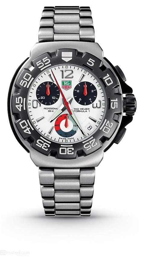 Tagheuer Mclaren Orange Formula 1 Silver Brown Leather tag heuer tag heuer formula 1 cac1111 ba0850 find trusted retailers at trusted