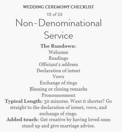 Wedding Checklist Martha by Non Denominational Wedding Checklist From Martha Stewart