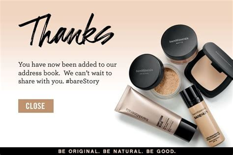Bare Minerals Gift Card Balance - shop bareminerals leaders in mineral foundation and makeup