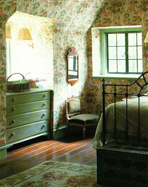 pretty green english cottage bedroom home sweet home
