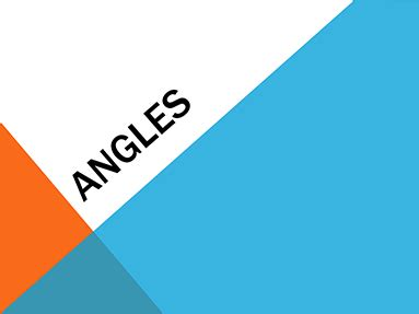 blue and orange powerpoint template angles office templates