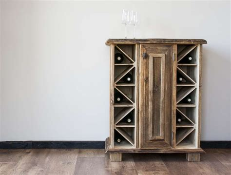 Vintage Wine Cabinet by Reclaimed Wood Wine Cabinets Reclaimed Wood Antiquewood Lv