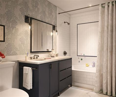 accent tiles for bathroom shower with white herringbone accent tiles contemporary