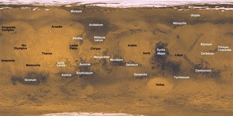 mars map up up and away with comet 252p sky telescope