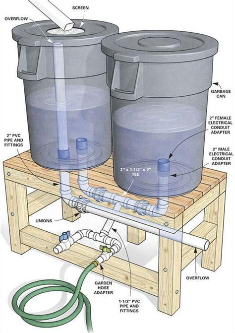 diy rain barrel diy pinterest