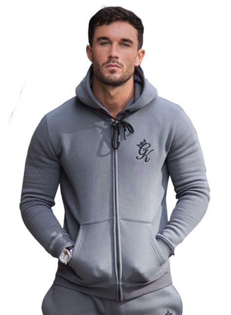Hoodie Zipper Franky C3 king tracksuit zip top grey