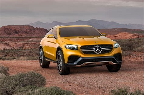 mercedes bench mercedes benz concept glc coupe first look