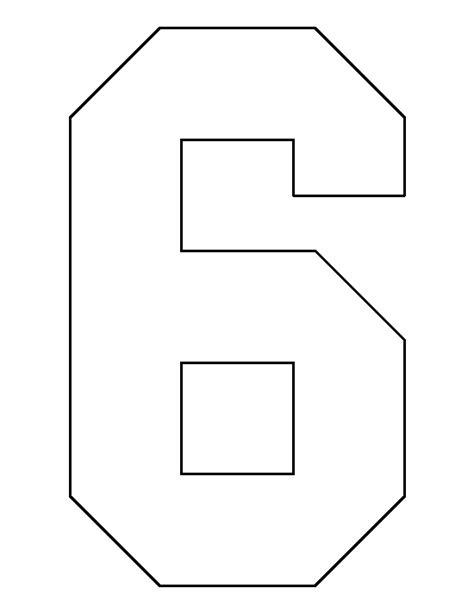 pattern block templates numbers pattern block printables