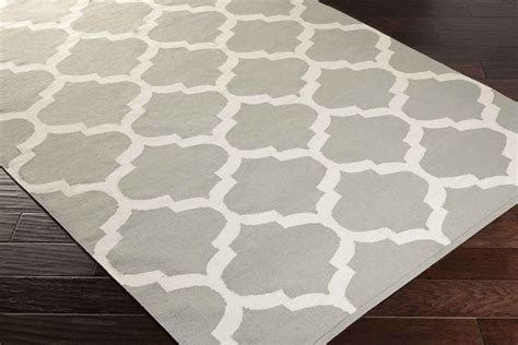 white and gray rug artistic weavers vogue everly awlt3004 grey white area rug