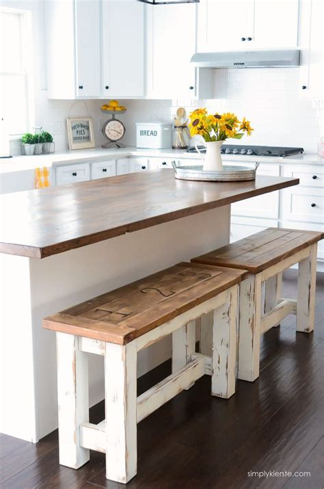 Diy Small Kitchen Table by Diy Kitchen Benches Simplykierste New Decorating