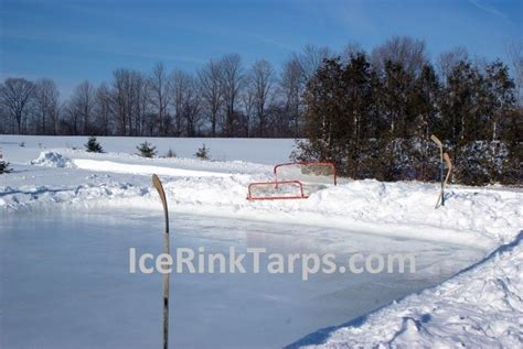 backyard rink tarp 187 backyard and yard design for