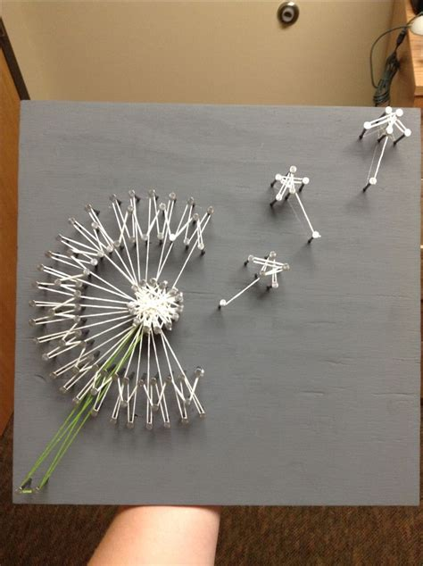 String Project - dandelion string there are many artists to use as