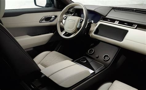 range rover velar dashboard stunning new range rover velar officially unveiled ndtv