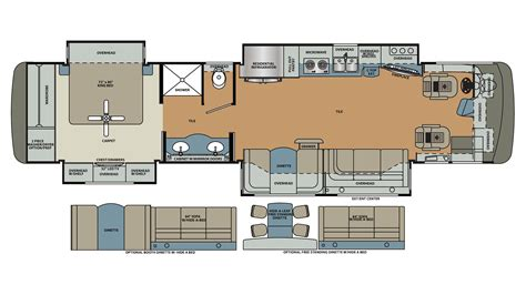 class a floor plans 2017 forest river berkshire xl 40a 380 class a motorhome