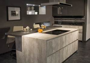 Top Kitchen Designers 2016 saw a big increase in the demand for concrete effect kitchens