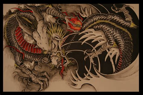 dragon tiger tattoo designs 1000 images about ideas on