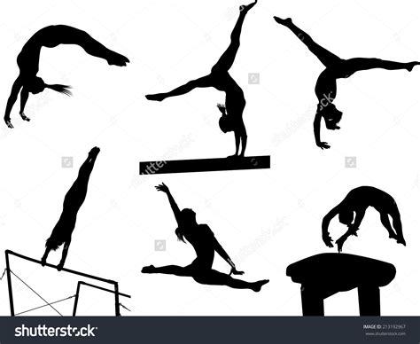 gymnast clip gymnastics vault clipart www pixshark images