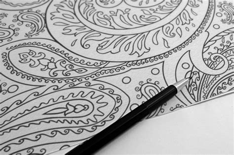 coloring book for adults amazing swirls flourish swirls embellished coloring printable