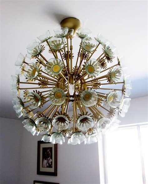 diy sputnik chandelier ikea maskros hack light source pinterest sputnik