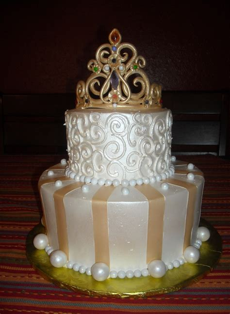 Golden Princess   CakeCentral.com