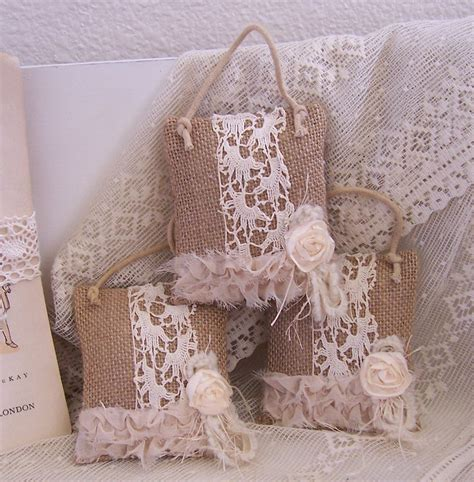 how to geed burlap in a christmas ornaments burlap feed sack mini pillows shabby chic