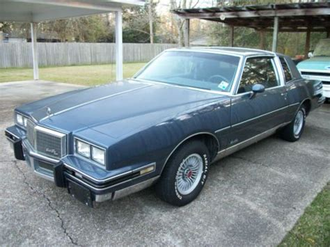 blue book value used cars 1980 pontiac grand prix security system find used 1984 pontiac grand prix brougham coupe 2 door 5 0l in baker louisiana united states