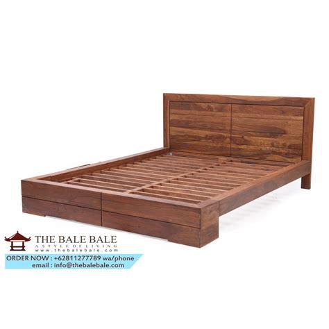Ranjang Minimalis Dan Harga harga model dan gambar tempat tidur jati minimalis jepara