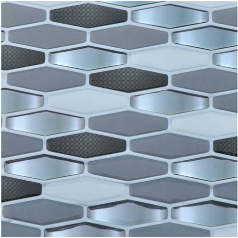 peel and stick wallpaper tiles diamond wall tile peel and stick backsplash sticker set of 6