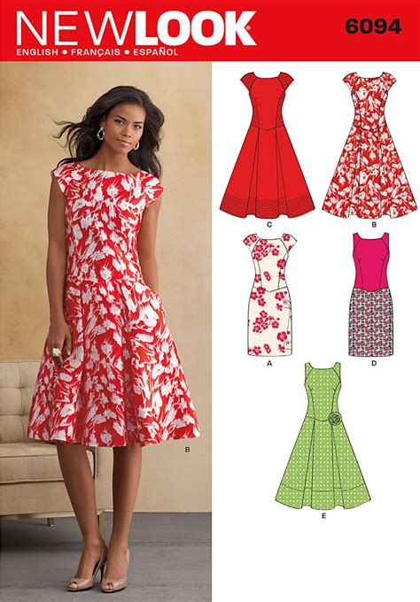 sewing pattern simple dress sew along a checklist for the new look 6094 dress