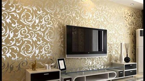 wallpaper dinding ruang tamu minimalis coklat memilih desain wallpaper dinding ruang tamu renovasi
