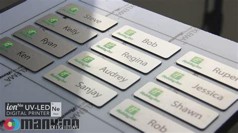Custome Name 1 neon uv led printer custom name badges
