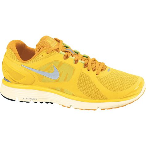 bike24 nike lunareclipse 2 running shoe yellow 487983 707