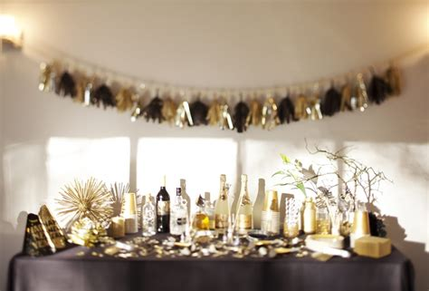 new year home decoration ideas a new year s eve gold rush party the sweetest occasion