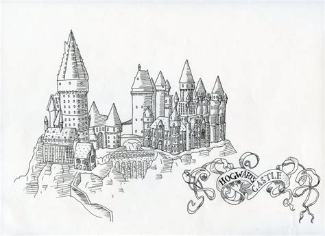 hogwarts by kalizin on deviantart