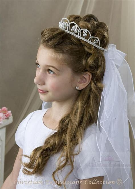 cute hairstyles for first communion first communion hairstyles for long hair long hairstyles