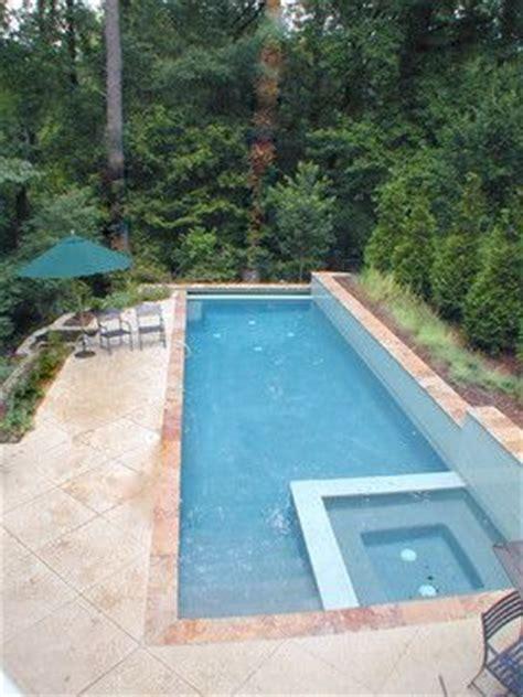 lap pool backyard google search lap pools pinterest lap pool fits on long skinny lot walls above and below