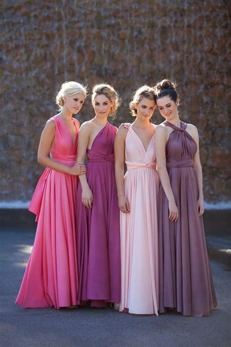 Blushing Bridesmaids   Confetti.co.uk