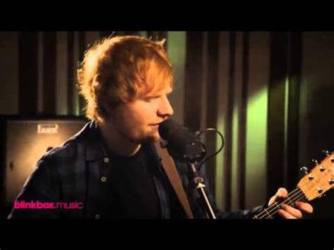 ed sheeran in the live room ed sheeran give me captured in the live room lyrics