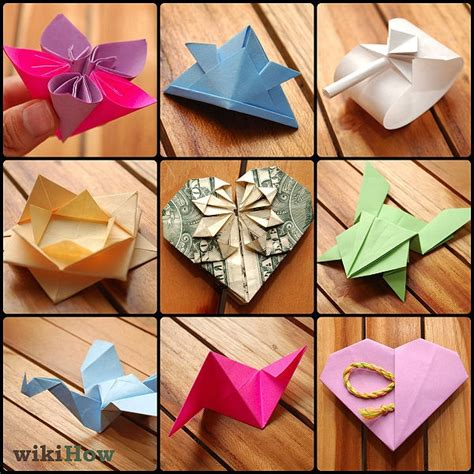 Things Made From Origami Paper - origami things to make and do