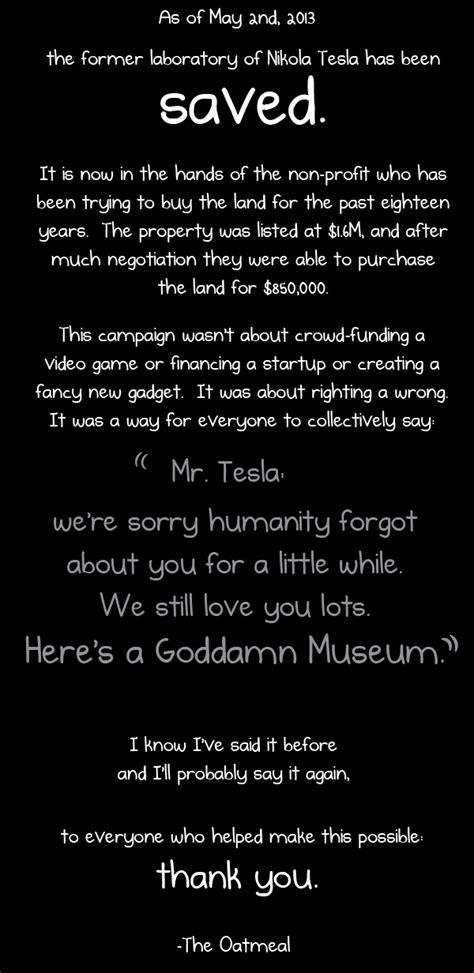 Nikola Tesla The Oatmeal Why Nikola Tesla And The Oatmeal Is Awesome Sports