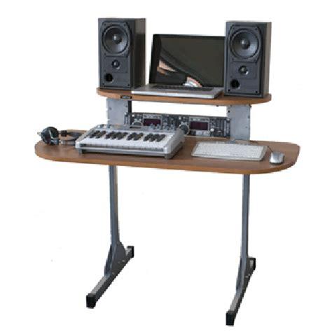 X15 Studio Dj Desk Xd150 909 Tobacco Walnut Studio Desks Dj Studio Desk