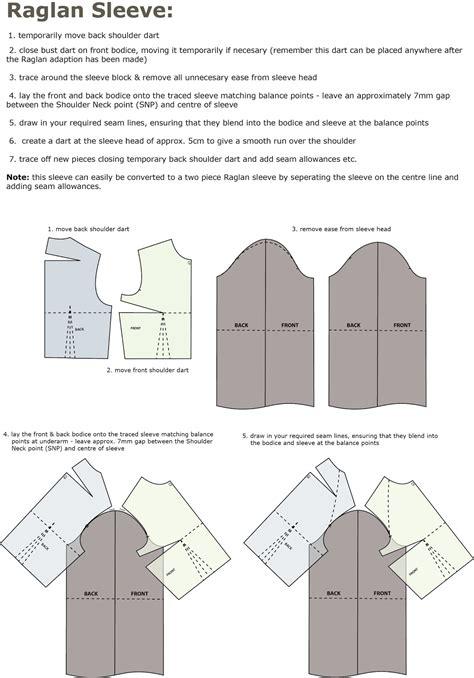 pattern making raglan sleeve introduction to pattern cutting raglan sleeve house of jo