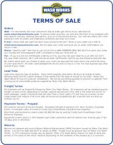 sales terms and conditions template free terms and conditions of sale template free terms and