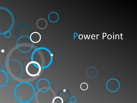 PowerPoint Template   Bubbles